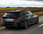 2020 BMW M340i xDrive Touring (Color: Black Sapphire Metallic) Rear Three-Quarter Wallpapers 150x120 (25)