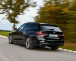 2020 BMW M340i xDrive Touring (Color: Black Sapphire Metallic) Rear Three-Quarter Wallpapers 150x120 (8)