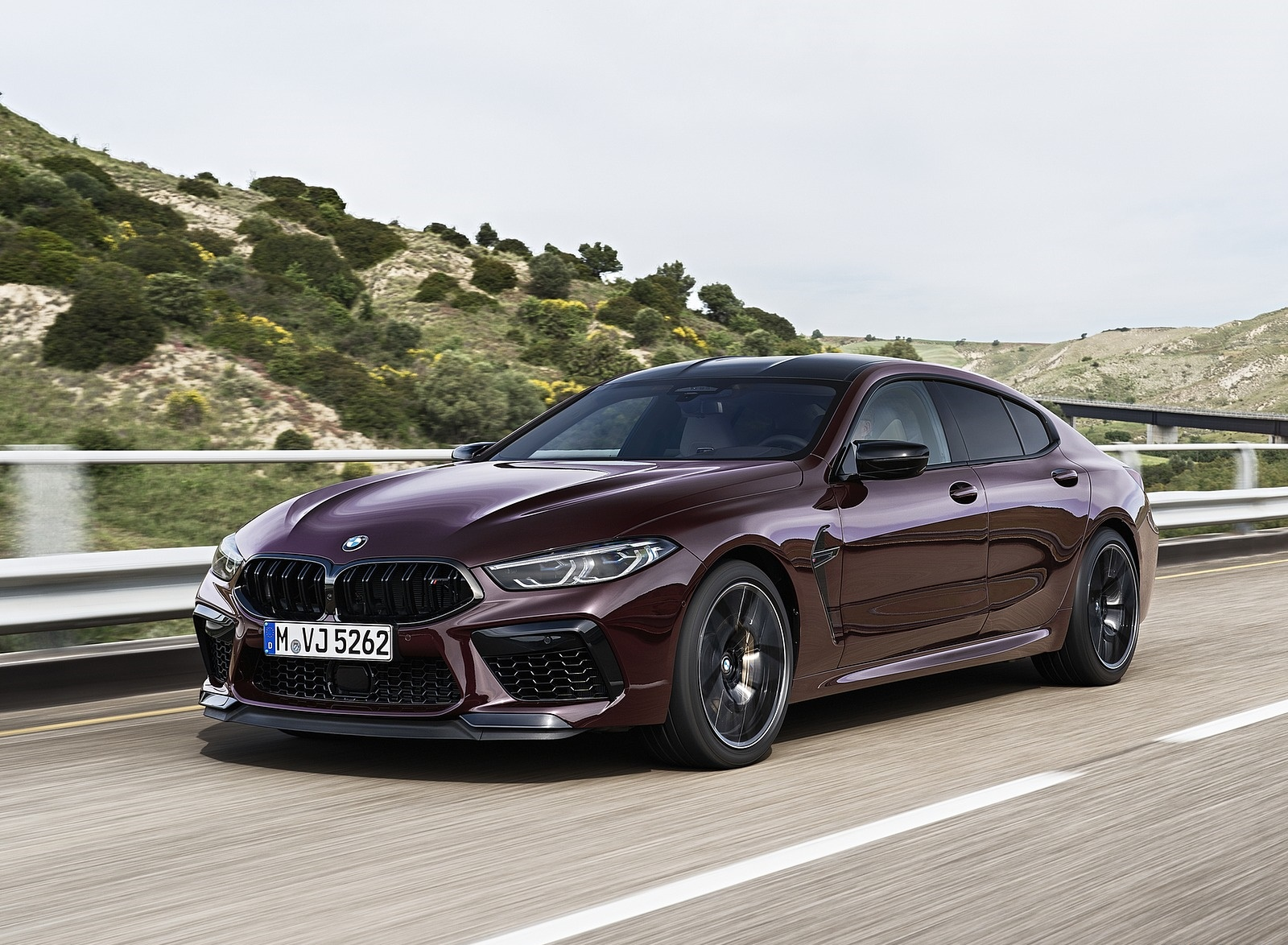 2020 BMW M8 Gran Coupe Competition Front Three-Quarter Wallpapers (2)