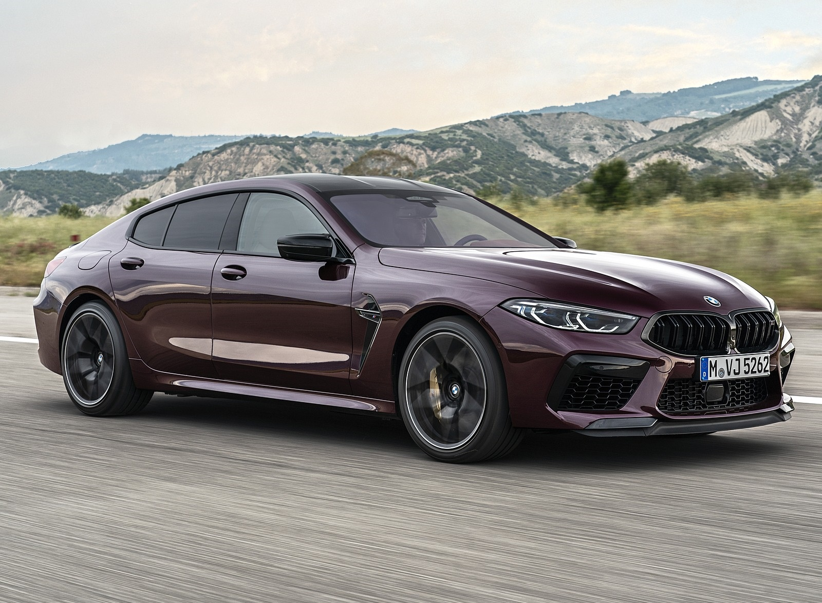 2020 BMW M8 Gran Coupe Competition Front Three-Quarter Wallpapers (3)