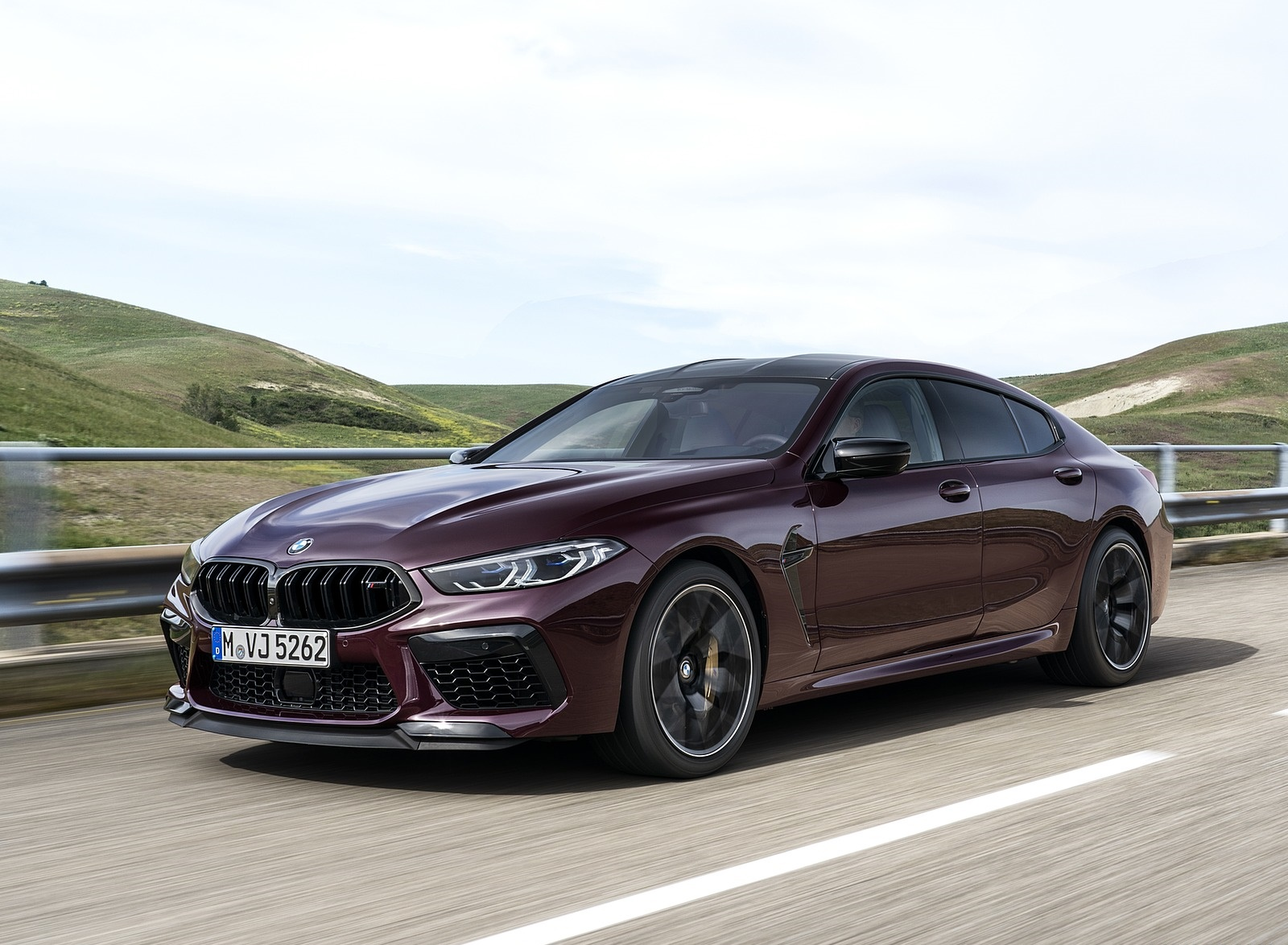 2020 BMW M8 Gran Coupe Competition Front Three-Quarter Wallpapers (5)