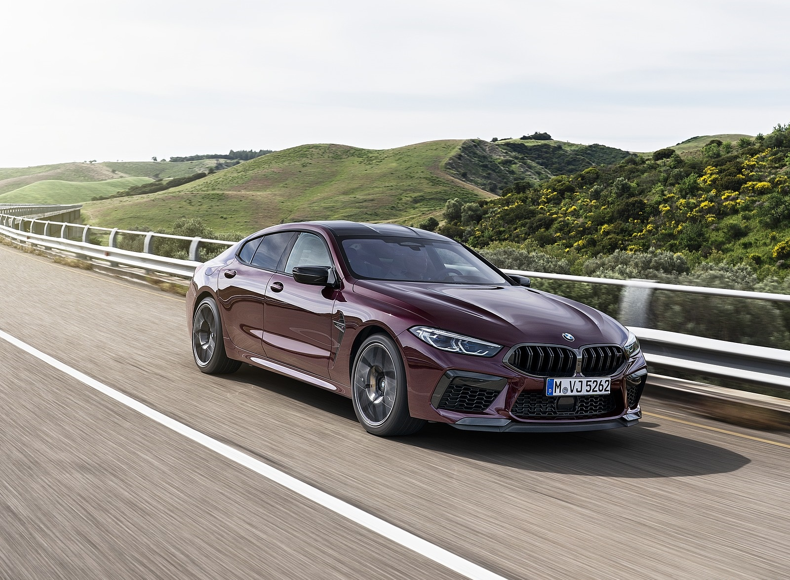 2020 BMW M8 Gran Coupe Competition Front Three-Quarter Wallpapers (6)