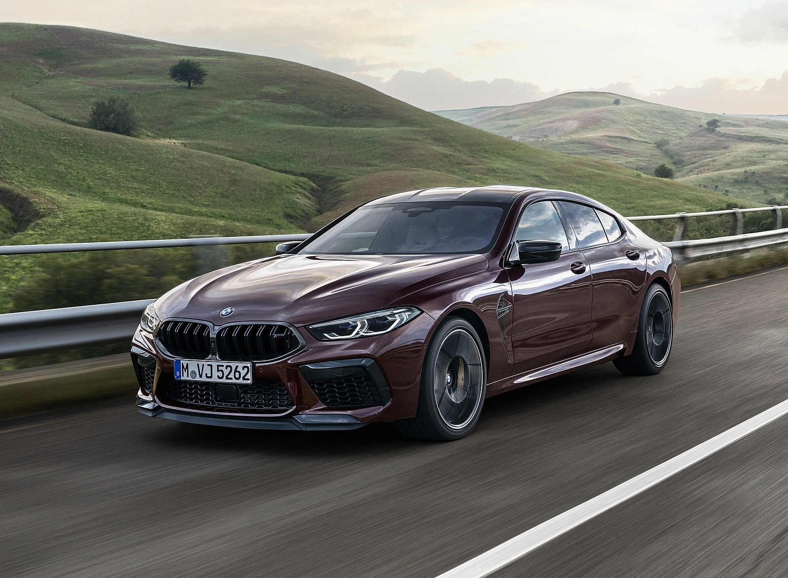 2020 BMW M8 Gran Coupe Competition Front Three-Quarter Wallpapers (7)