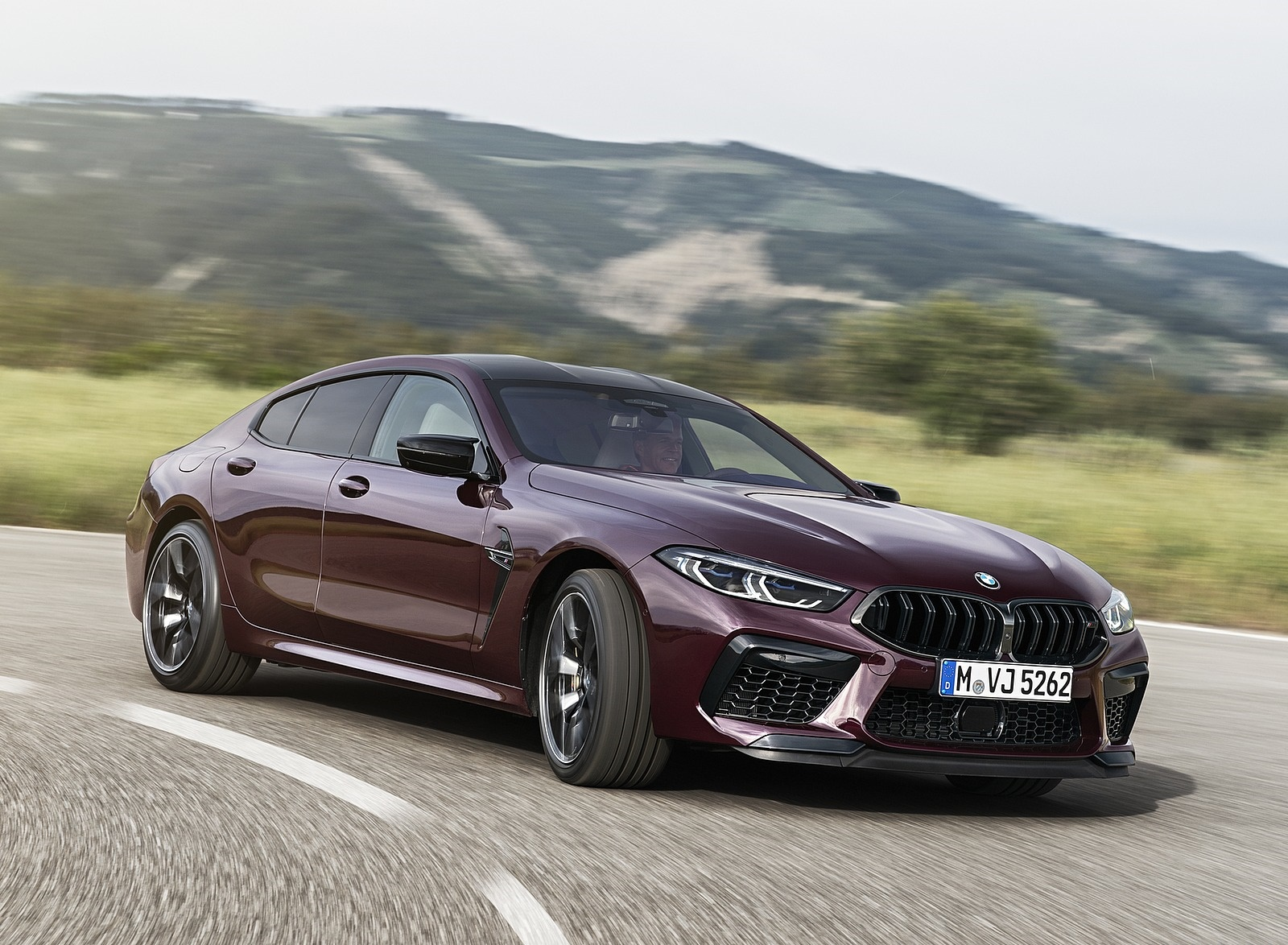 2020 BMW M8 Gran Coupe Competition Front Three-Quarter Wallpapers (1)
