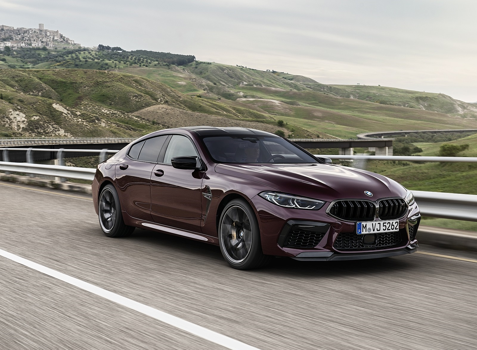 2020 BMW M8 Gran Coupe Competition Front Three-Quarter Wallpapers (9)