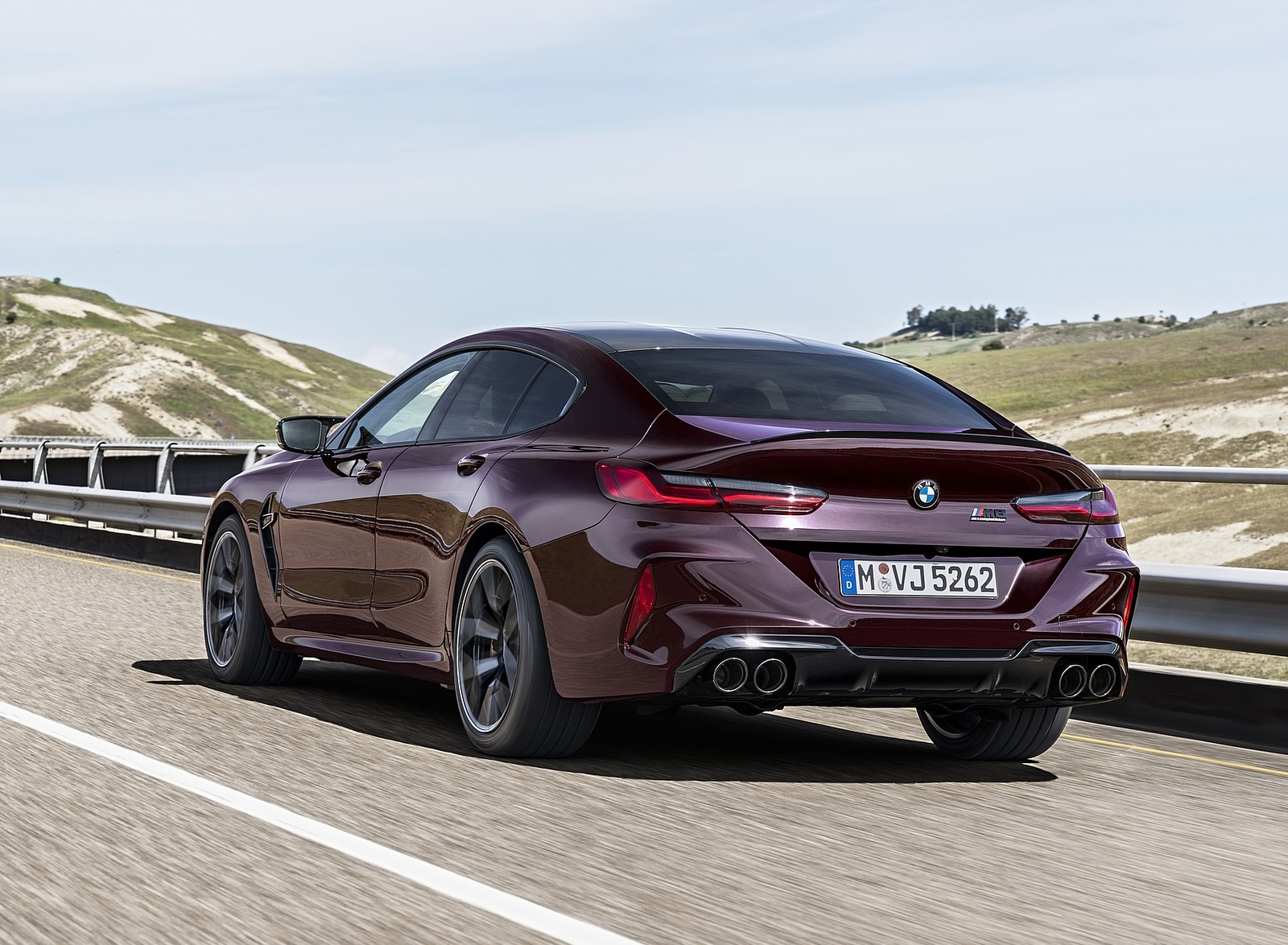 2020 BMW M8 Gran Coupe Competition Rear Three-Quarter Wallpapers (10)