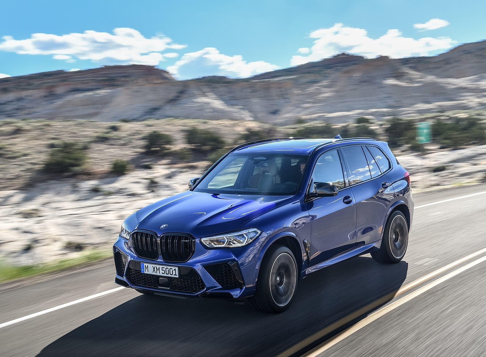 2020 BMW X5 M Competition Front Three-Quarter Wallpapers (13)