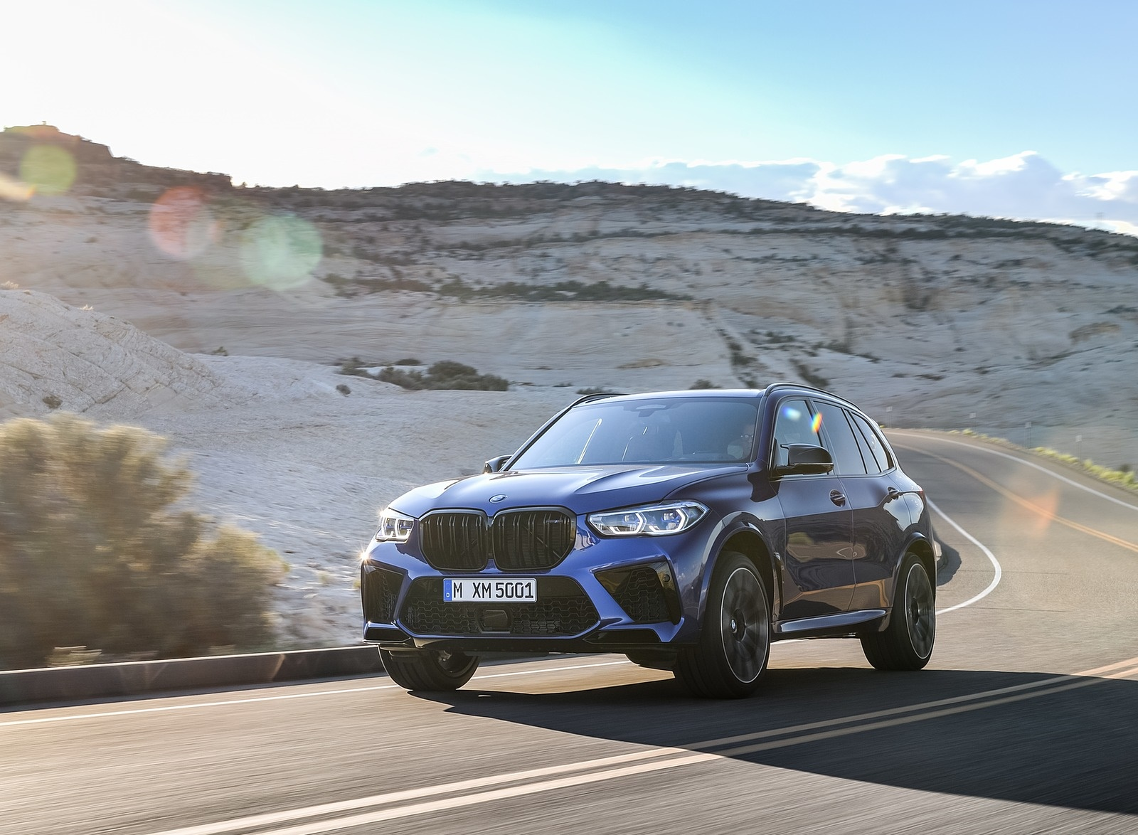 2020 BMW X5 M Competition Front Three-Quarter Wallpapers (2)