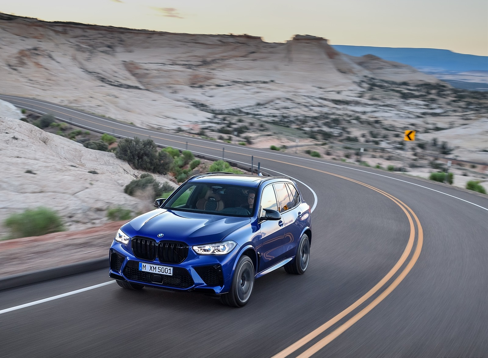 2020 BMW X5 M Competition Front Three-Quarter Wallpapers (3)