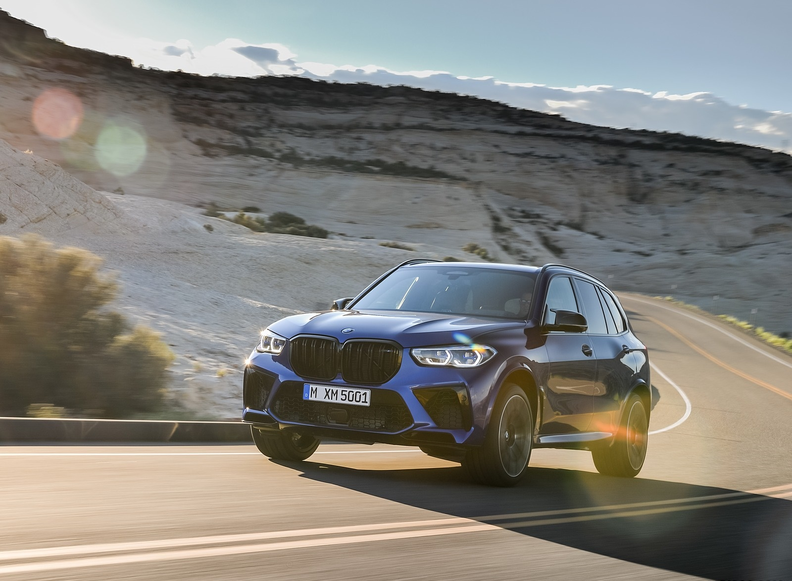2020 BMW X5 M Competition Front Three-Quarter Wallpapers (15)