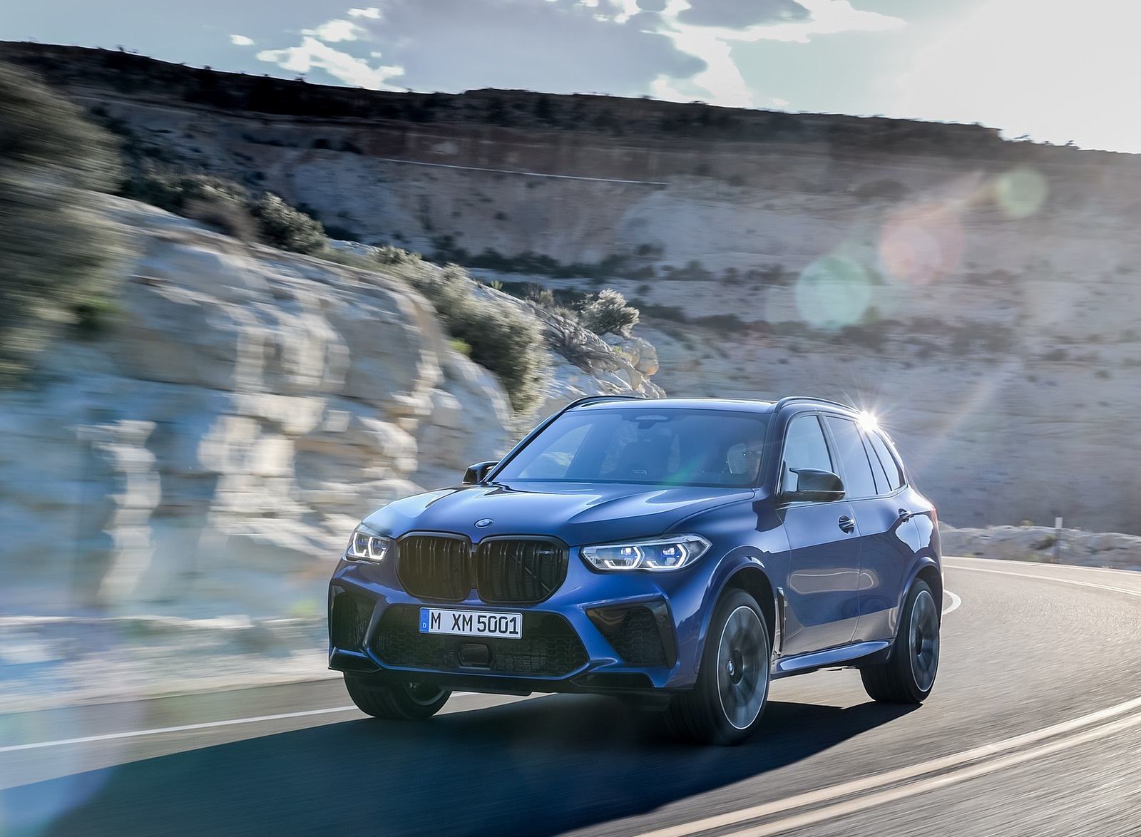 2020 BMW X5 M Competition Front Three-Quarter Wallpapers (4)