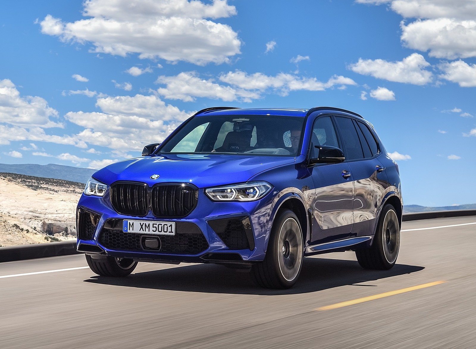 2020 BMW X5 M Competition Front Three-Quarter Wallpapers (7)