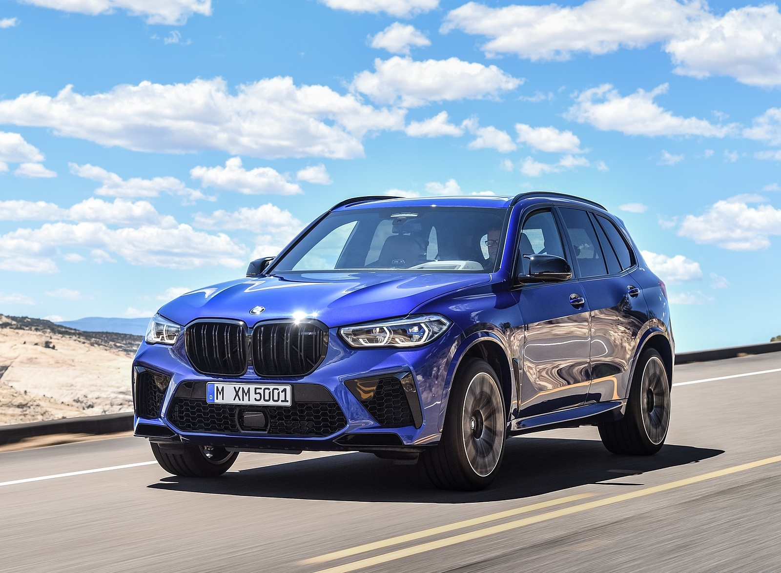 2020 BMW X5 M Competition Front Three-Quarter Wallpapers (8)