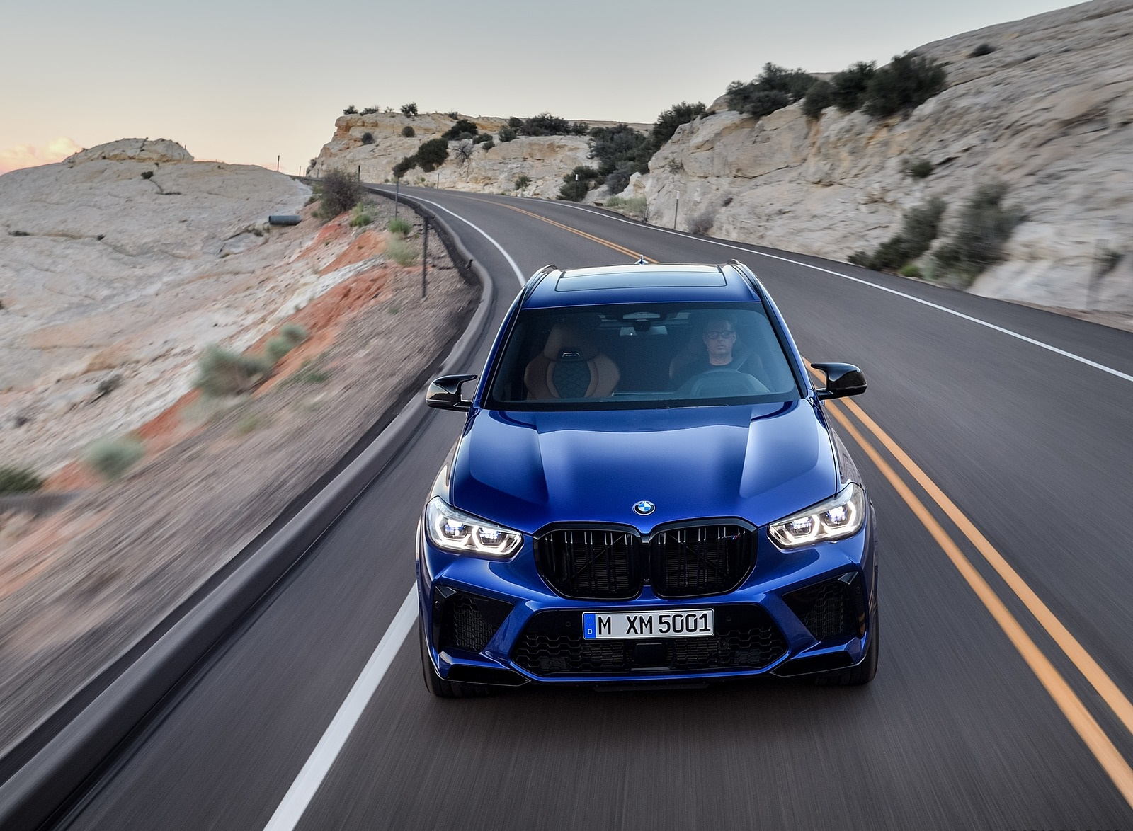 2020 BMW X5 M Competition Front Wallpapers (9)