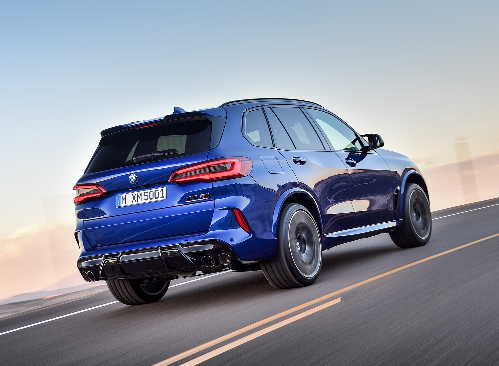 2020 BMW X5 M Competition Rear Three-Quarter Wallpapers (11)