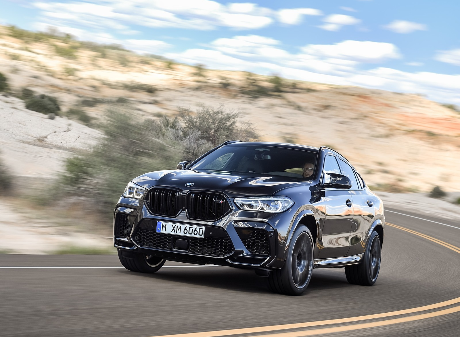 2020 BMW X6 M Competition Front Three-Quarter Wallpapers (13)