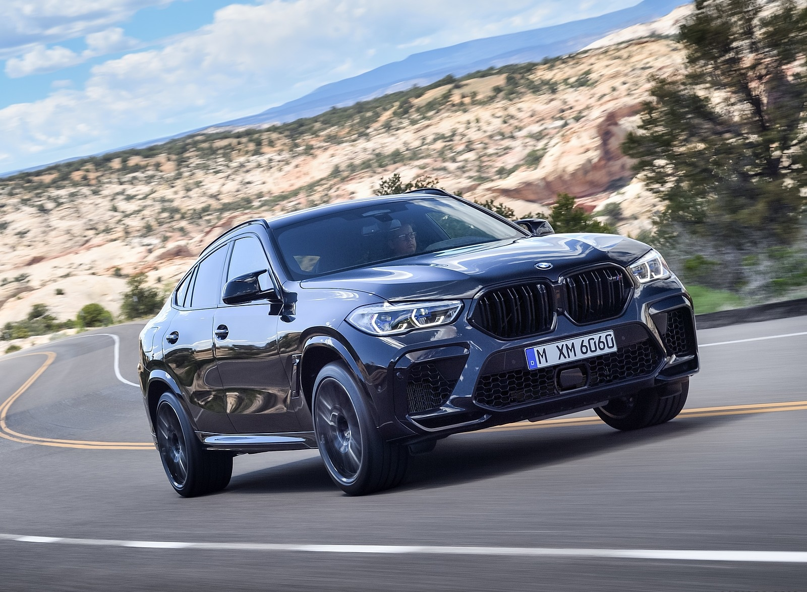 2020 BMW X6 M Competition Front Three-Quarter Wallpapers (5)