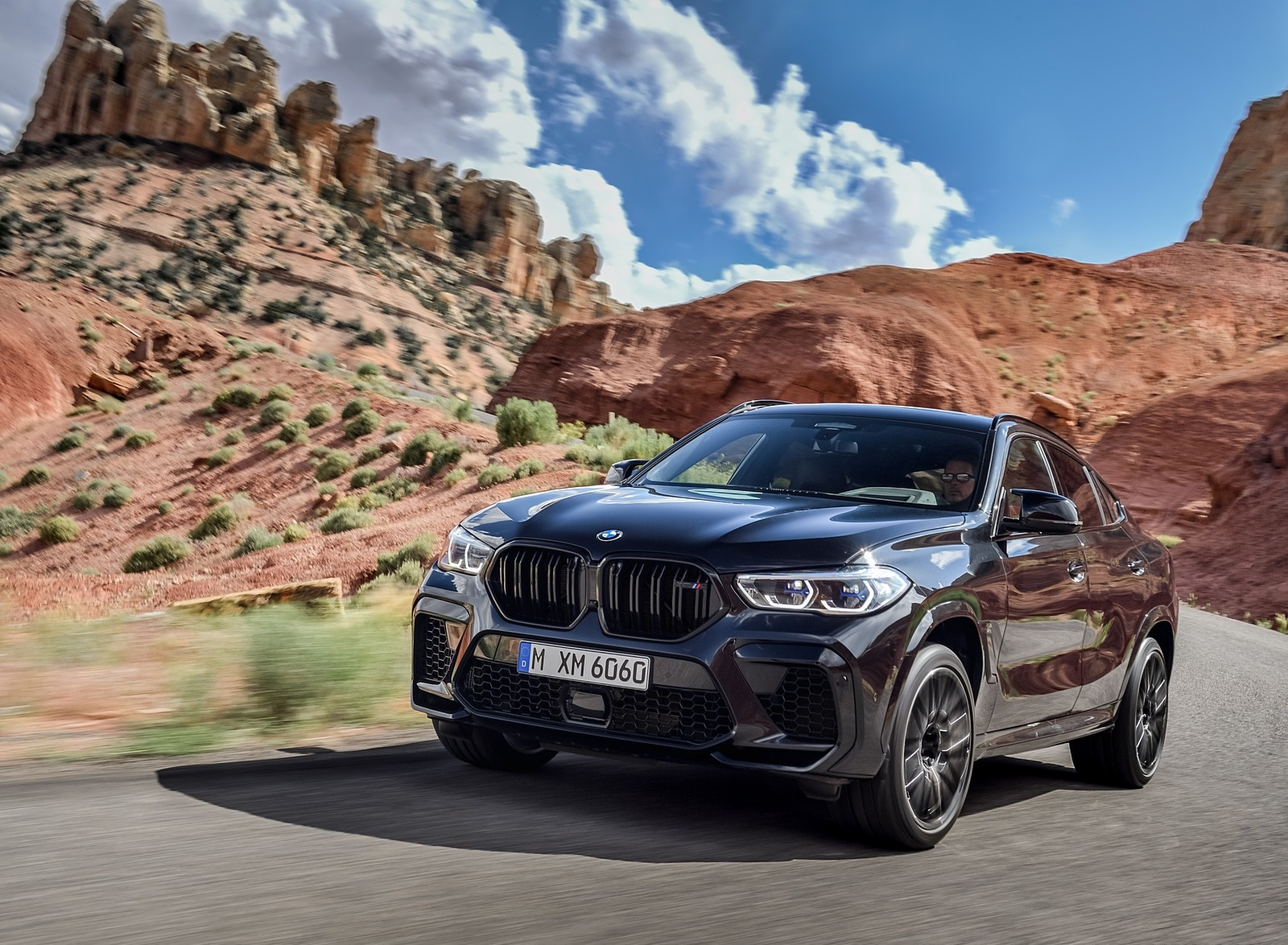 2020 BMW X6 M Competition Front Three-Quarter Wallpapers (14)