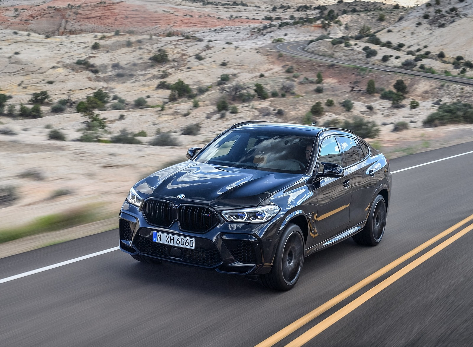 2020 BMW X6 M Competition Front Three-Quarter Wallpapers (7)