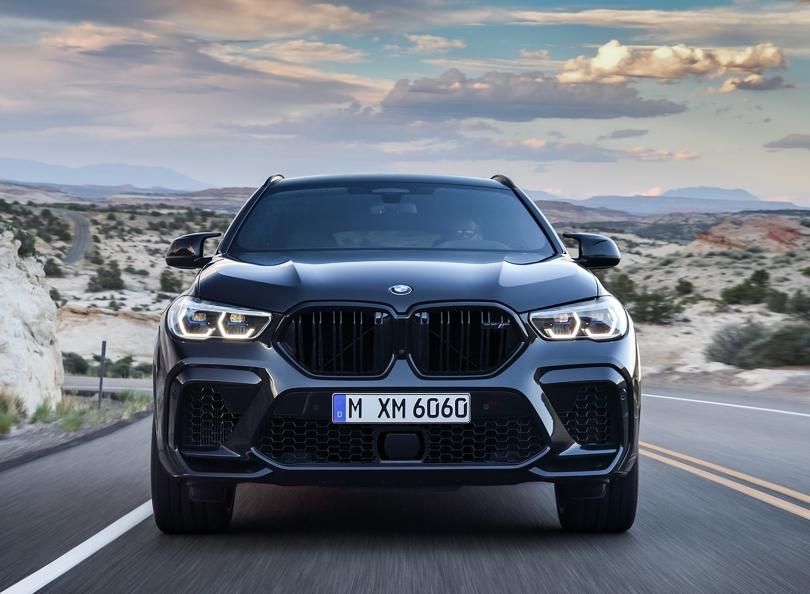 2020 BMW X6 M Competition Front Wallpapers (8)