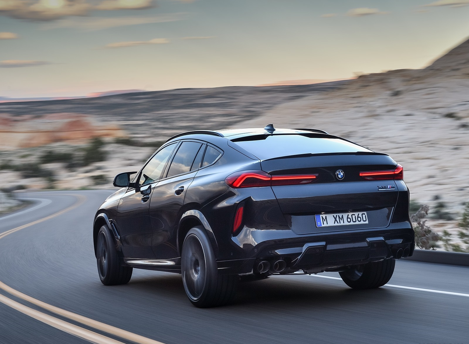 2020 BMW X6 M Competition Rear Three-Quarter Wallpapers (9)