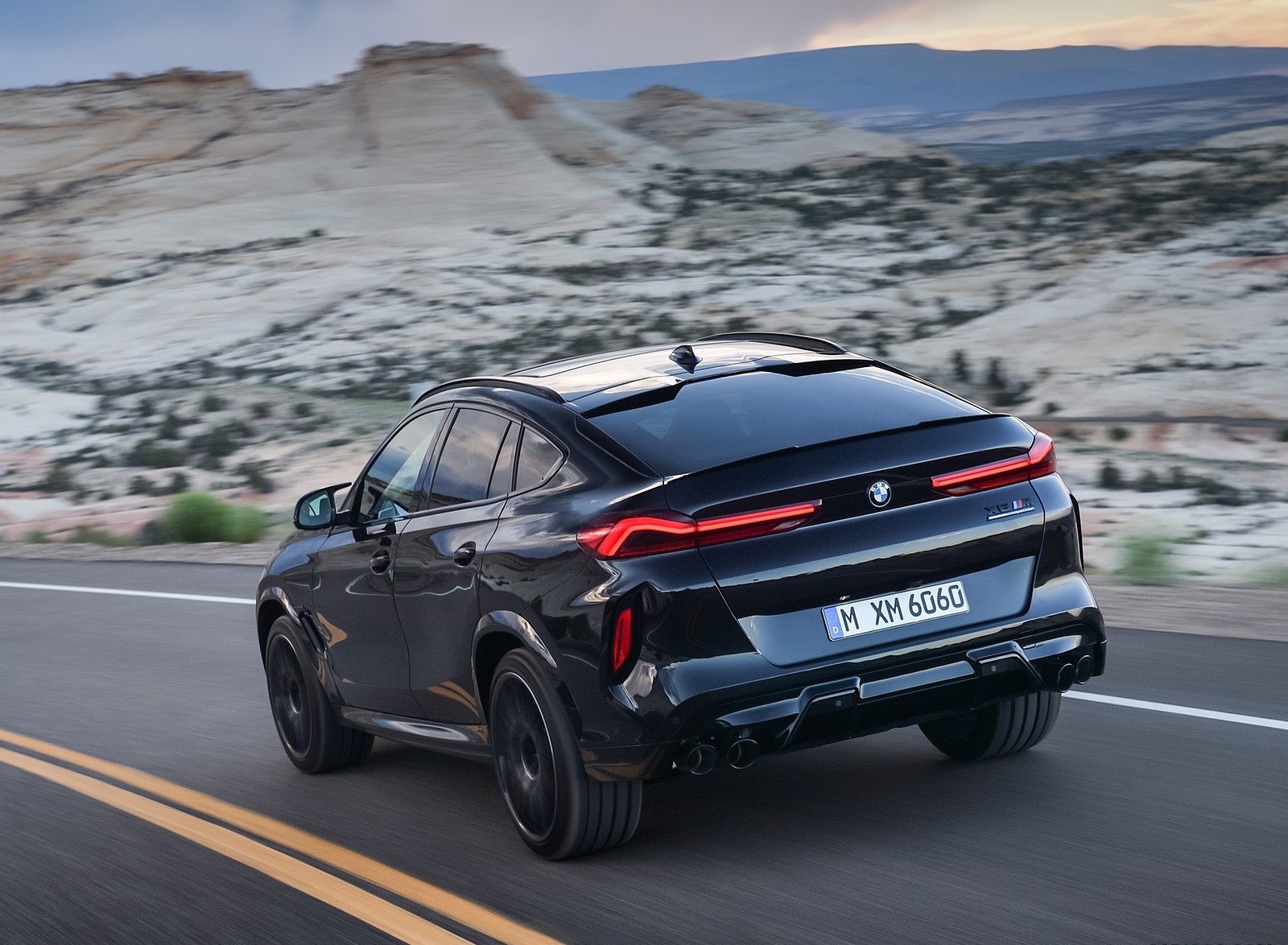 2020 BMW X6 M Competition Rear Three-Quarter Wallpapers (11)