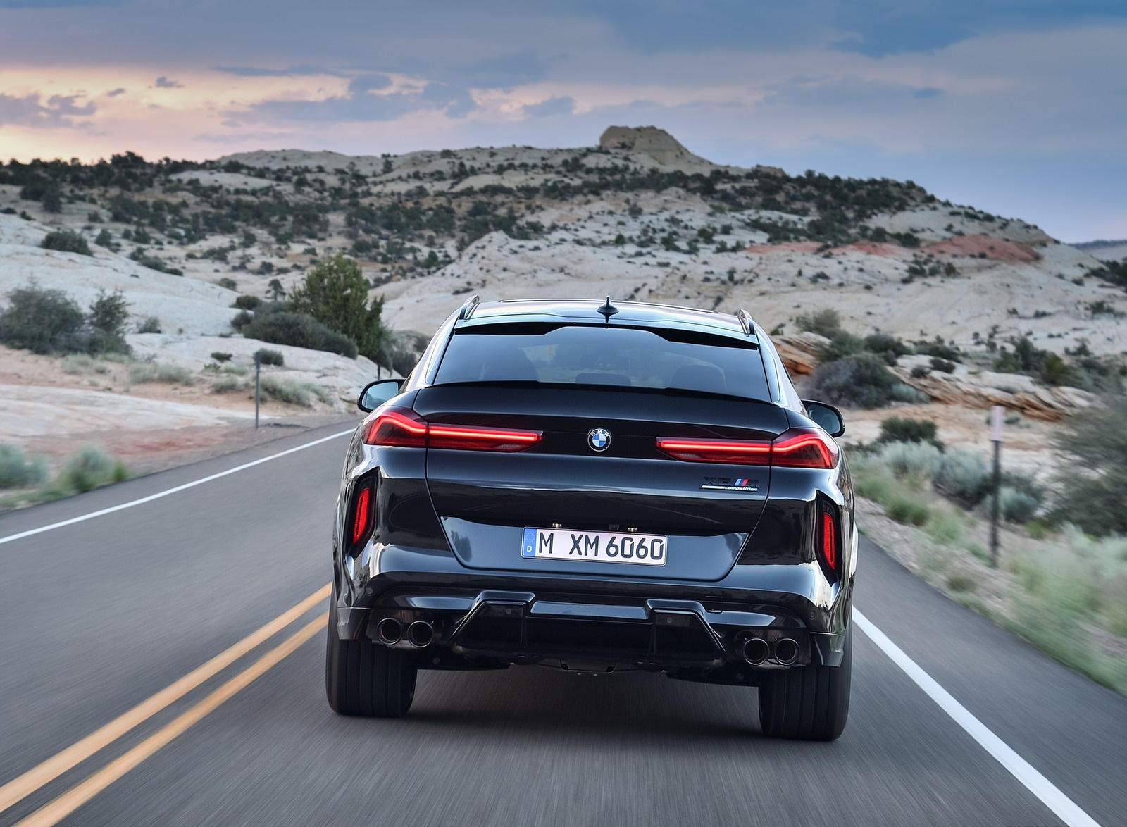2020 BMW X6 M Competition Rear Wallpapers (12)