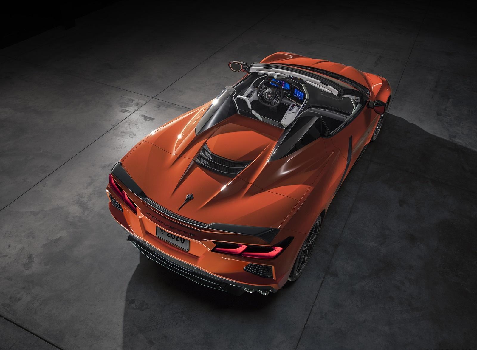 2020 Chevrolet Corvette Stingray Convertible Rear Three-Quarter Wallpapers (14)