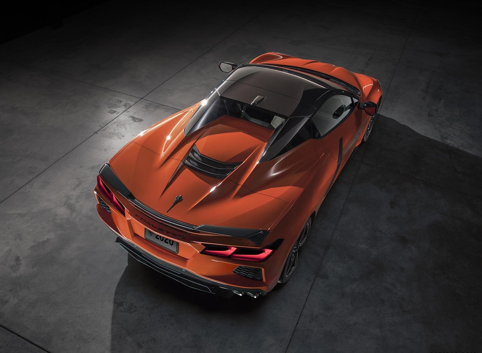 2020 Chevrolet Corvette Stingray Convertible Rear Three-Quarter Wallpapers (13)