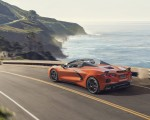 2020 Chevrolet Corvette Stingray Convertible Rear Three-Quarter Wallpapers 150x120 (5)