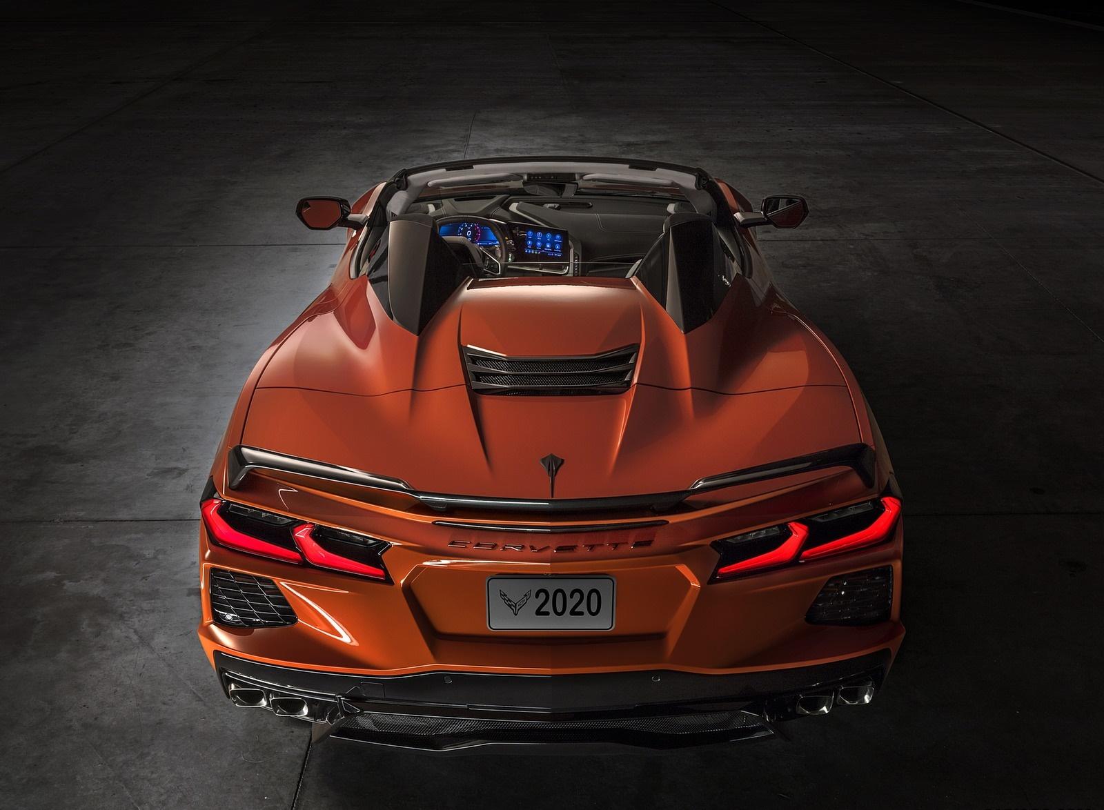 2020 Chevrolet Corvette Stingray Convertible Rear Wallpapers (12)