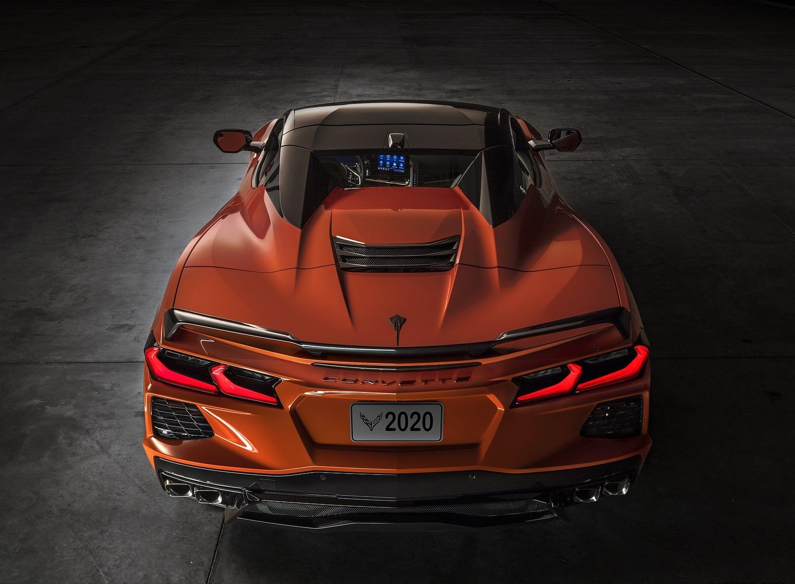 2020 Chevrolet Corvette Stingray Convertible Rear Wallpapers (11)