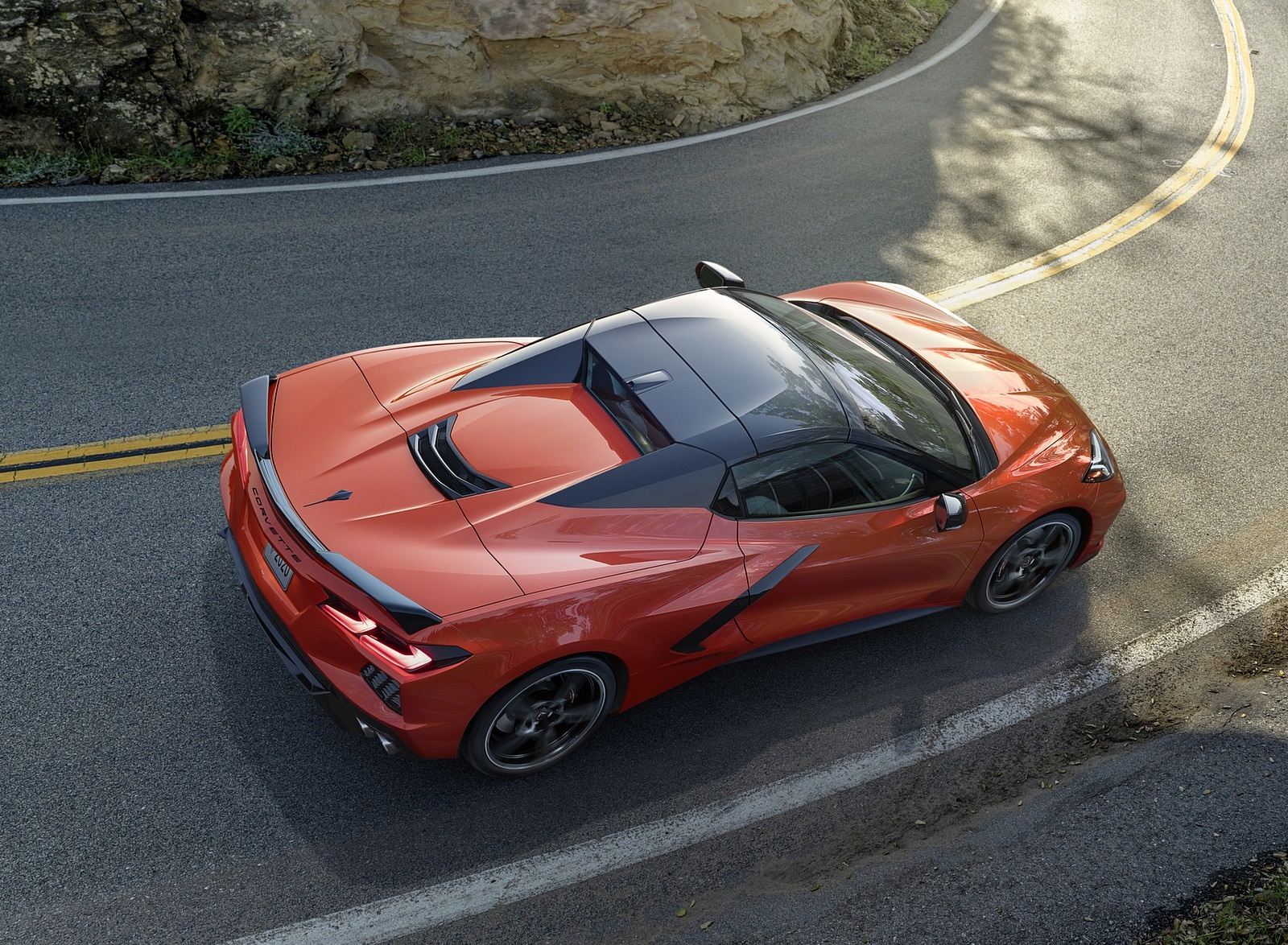 2020 Chevrolet Corvette Stingray Convertible Top Wallpapers (1)