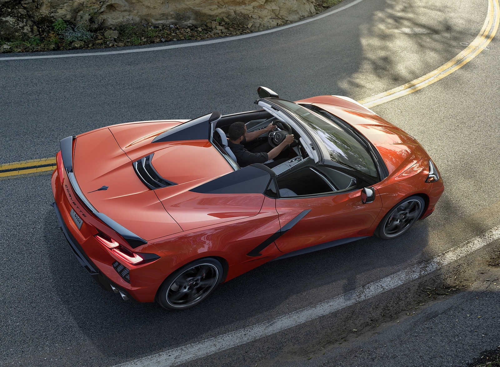 2020 Chevrolet Corvette Stingray Convertible Top Wallpapers (6)