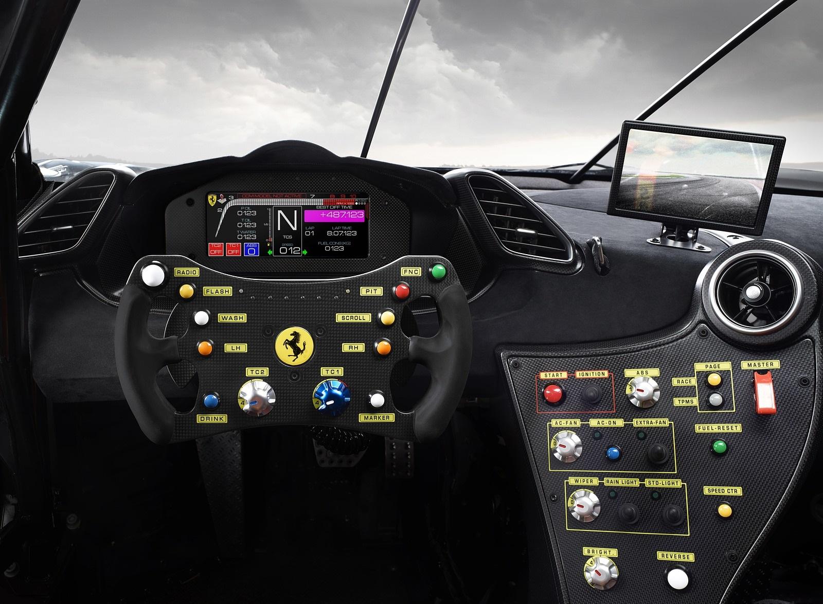 2020 Ferrari 488 Challenge Evo Interior Wallpapers (5)