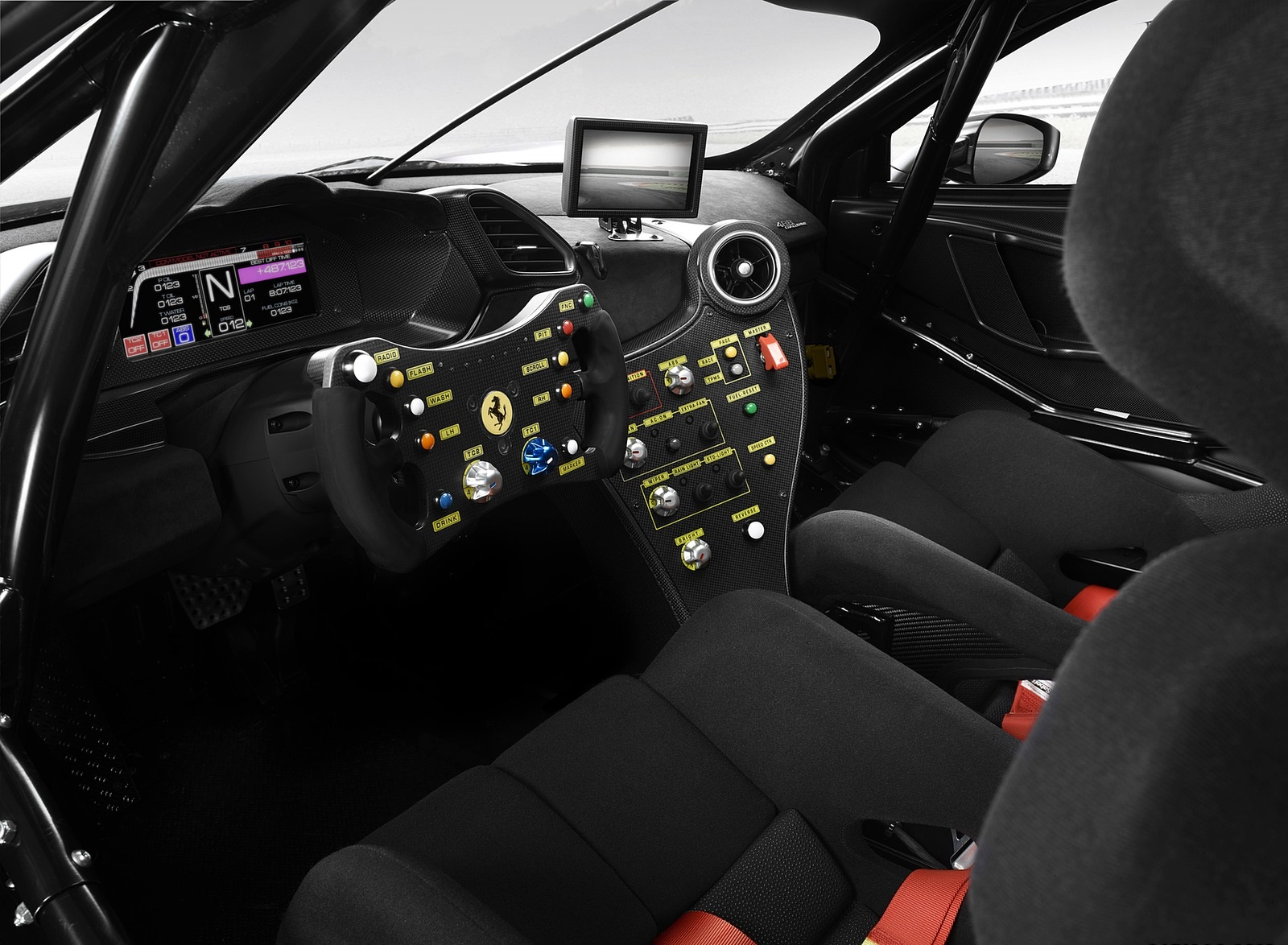 2020 Ferrari 488 Challenge Evo Interior Wallpapers (4)