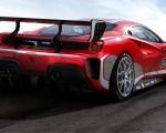 2020 Ferrari 488 Challenge Evo Rear Three-Quarter Wallpapers 150x120 (3)