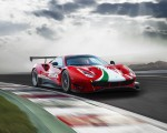 2020 Ferrari 488 GT3 EVO Front Three-Quarter Wallpapers 150x120 (2)