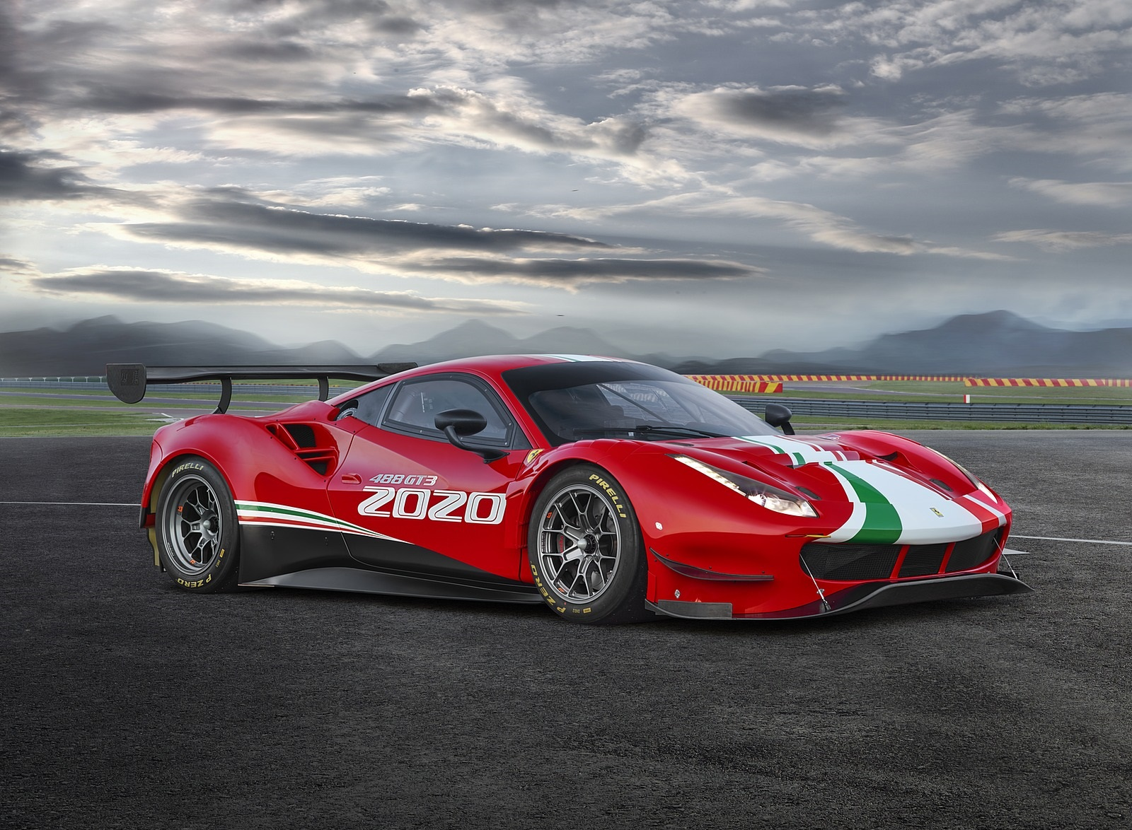 2020 Ferrari 488 GT3 EVO Front Three-Quarter Wallpapers (5)