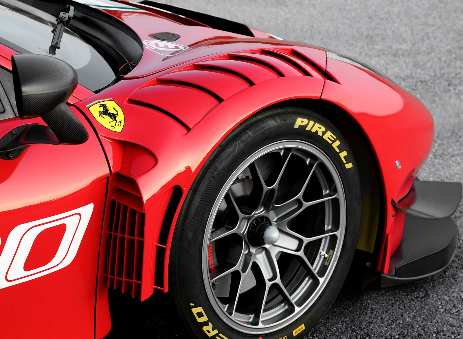 2020 Ferrari 488 GT3 EVO Wheel Wallpapers (7)