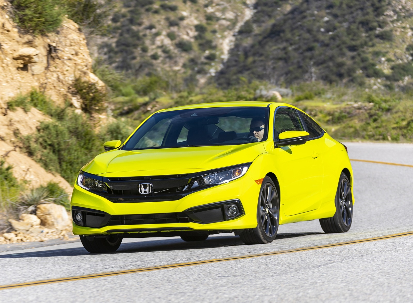 2020 Honda Civic Coupe Sport Front Three-Quarter Wallpapers (1)