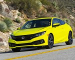 2020 Honda Civic Coupe Sport Front Three-Quarter Wallpapers 150x120 (7)