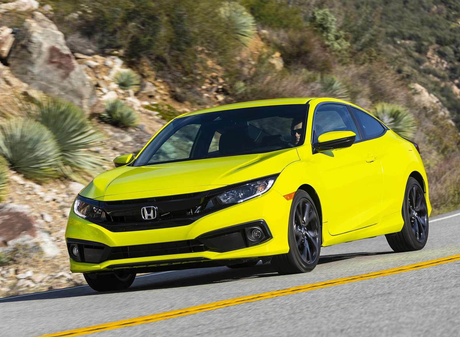 2020 Honda Civic Coupe Sport Front Three-Quarter Wallpapers (7)