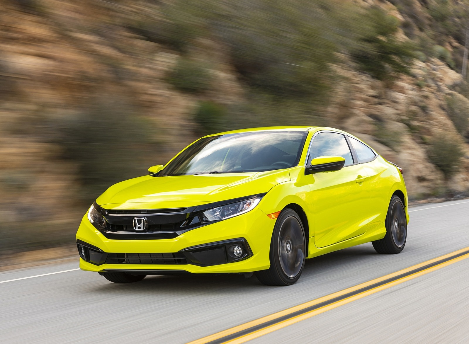 2020 Honda Civic Coupe Sport Front Three-Quarter Wallpapers (2)