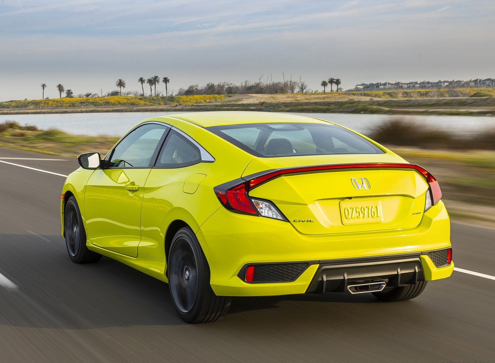 2020 Honda Civic Coupe Sport Rear Three-Quarter Wallpapers (10)