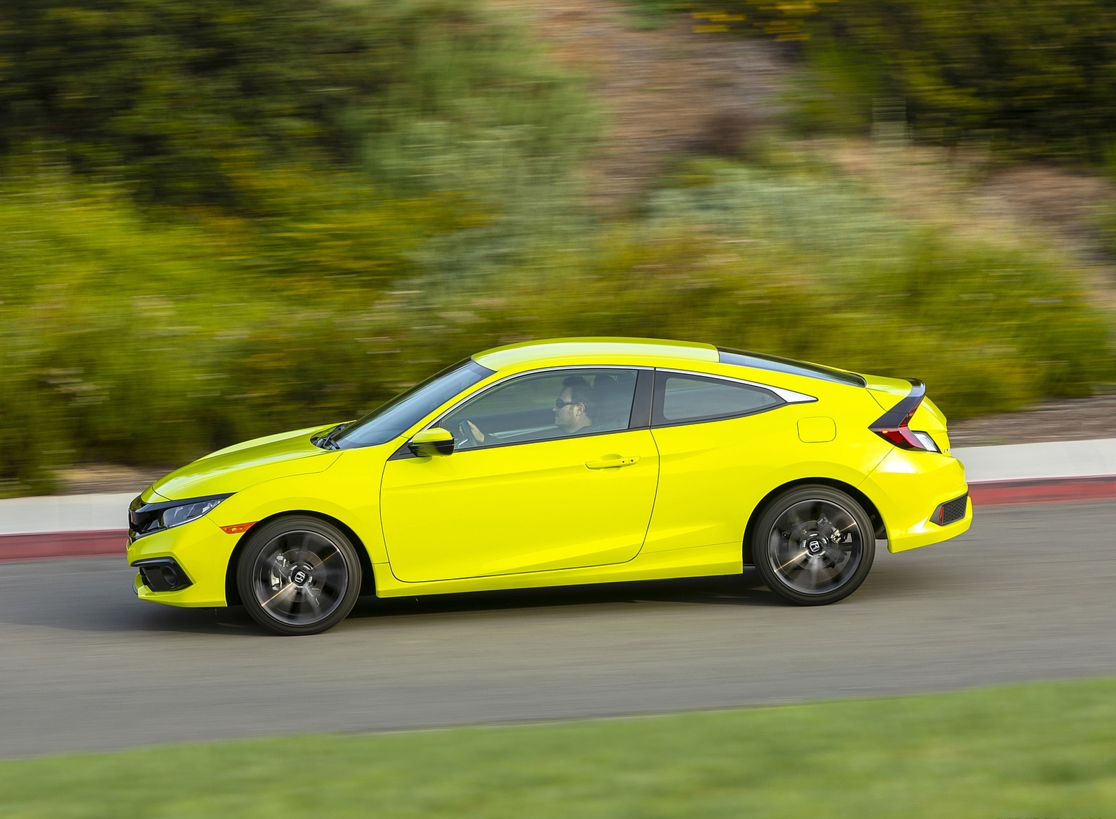 2020 Honda Civic Coupe Sport Side Wallpapers (5)