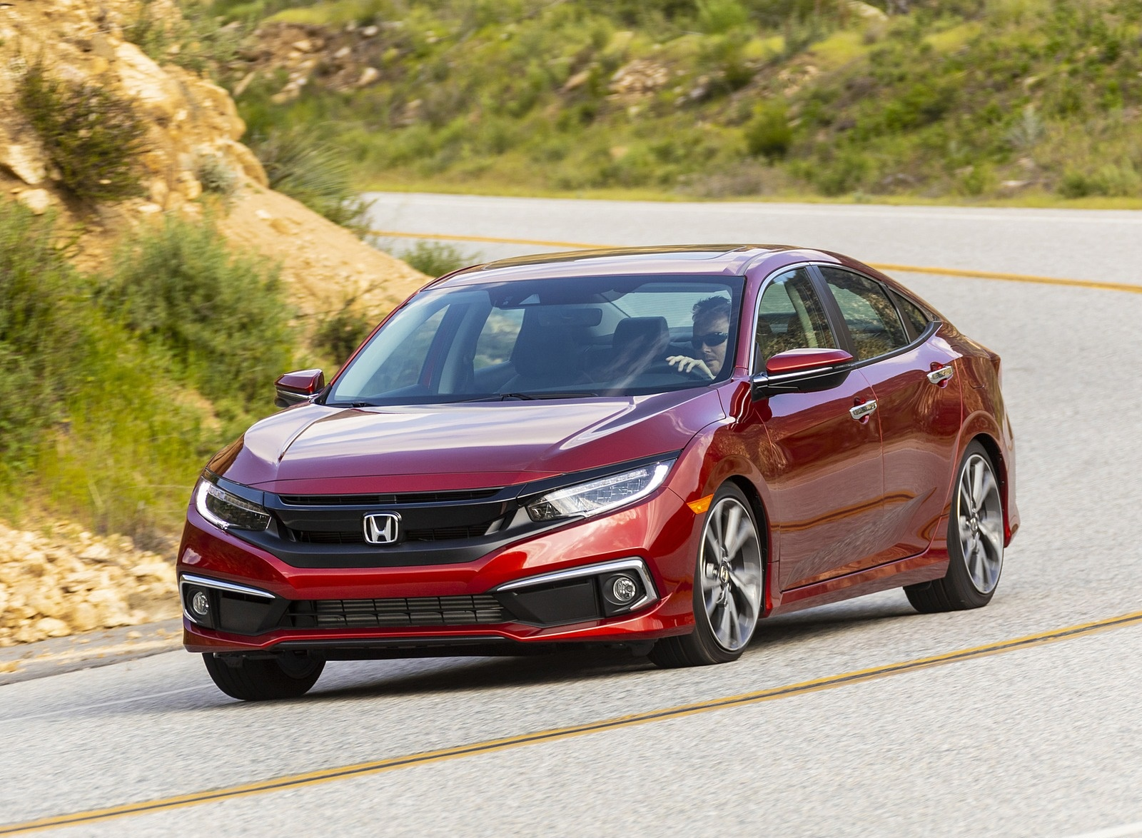 2020 Honda Civic Sedan Touring Front Three-Quarter Wallpapers (7)