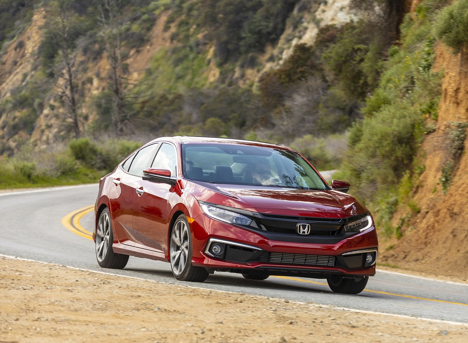 2020 Honda Civic Sedan Touring Front Three-Quarter Wallpapers (8)