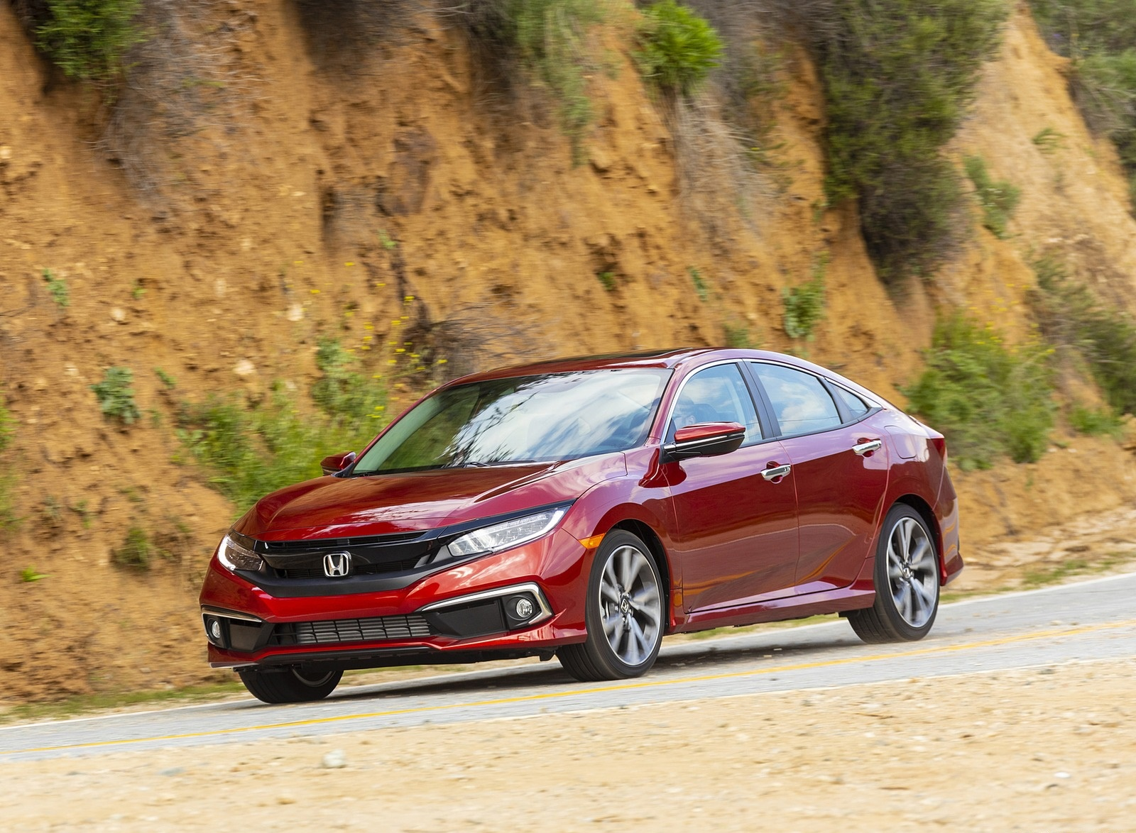2020 Honda Civic Sedan Touring Front Three-Quarter Wallpapers (9)