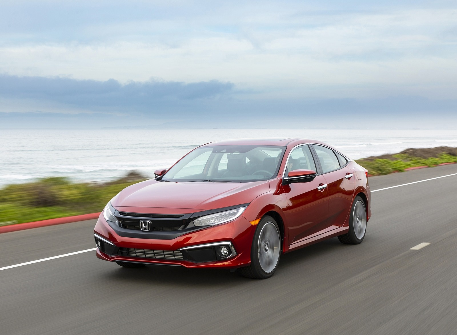 2020 Honda Civic Sedan Touring Front Three-Quarter Wallpapers (4)